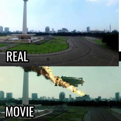 Penampakan UFO di Jakarta, Tips Editing Menggunakan Handphone