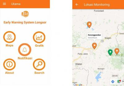 Aplikasi ELO (Early Warning System Longsor)
