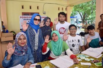 Hari Pertama Dibuka, 7 Ribu Relawan Serbu Posko Prof Andalan