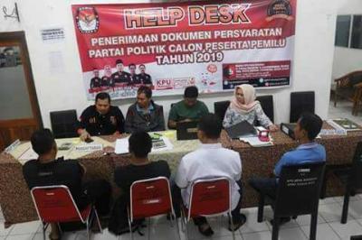 17 Parpol Sudah Mendaftar di KPU Kota Cirebon