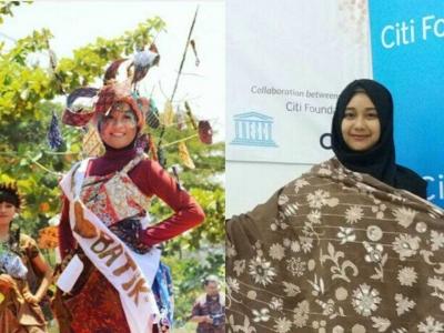 UNESCO, Cerita Batik dan Mimpi Pengusaha Muda