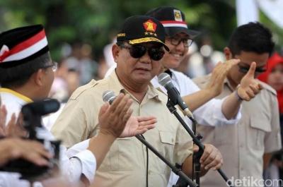 Prabowo di Posisi Kedua, Jokowi?