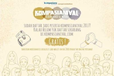 Kompasianival, Temu Darat Blogger Tanpa Sekat SARA