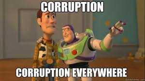 Korupsi Akut Ada di Mana-mana