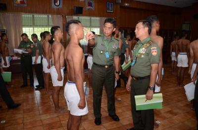 Pantukhir Catam,  Pangdam IV Pilih Calon Prajurit yang Memiliki Potensi, Jati Diri dan Unggul
