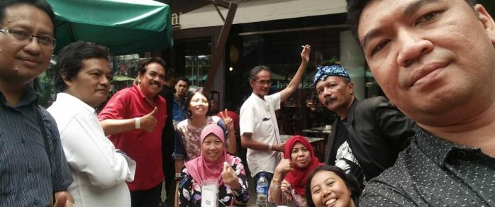 Diplomasi Krupuk dan Rujak di Kompasianival 2017