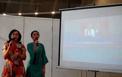 Vivit dan Vena bagi Kiat Pede Tampil Depan Publik di Kompasianival