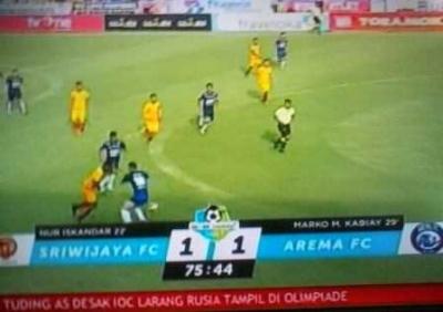 SFC Kontra Arema Imbang, Bali United Menang dan Gusur PSM dari Posisi Dua