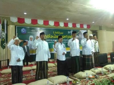 1 Milliar Shalawat Nariyah Sambut Hari Santri Nasional di Kediri