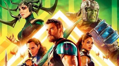"""[Resensi Film] """"Thor: Ragnarok"""", Petualangan Terbaik Si Dewa Petir"""