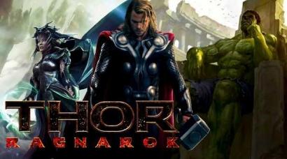 """""""Thor: Ragnarok"""", Senjakala Para Dewa"""