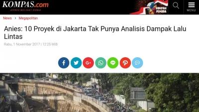 """Inikah Pernyataan yang Membuat Gubernur Anies """"Dipecat"""" Jokowi?"""