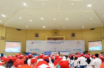 Sumpah Pemuda, BUMN Hadir di Kampus Unair Surabaya