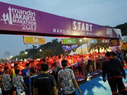 Catatan Pinggir dari Mandiri Jakarta Marathon 2017