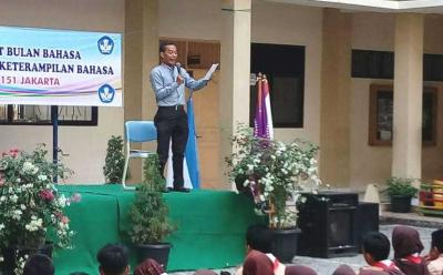 Semarak Gerakan Literasi di SMPN 151 Jakarta