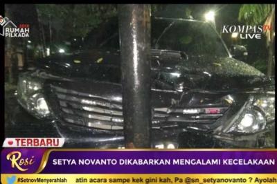 Polisi: Ada Kecelakaan di Kebon Jeruk, tetapi Belum Pasti Setnov Korbannya