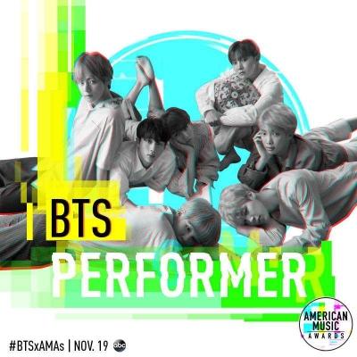 Pertama Kali ke American Music Awards, BTS Dapat Kehormatan Duduk di Barisan Depan
