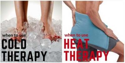 Terapi Dingin dan Panas untuk Cedera