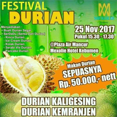 Festival Durian Wadah Promosi Unggulan