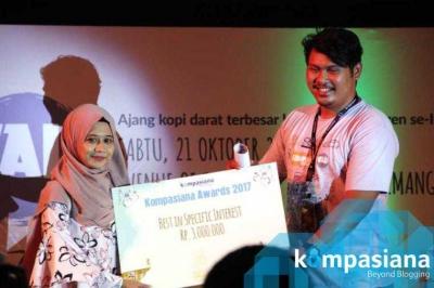 Via Kompasiana, Wanita Indonesia Bisa Eksis Berkarya