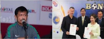 PSSI Tunjuk Indra Sjafri, Vietnam Pilih Duet Giggs dan Scholes