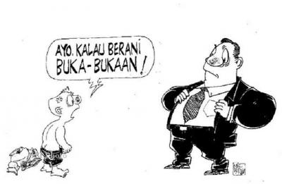 Ali Budin, Pejabat Narsis dan Pemarah