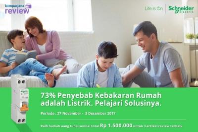 [Hari Terakhir] Blog Review: Solusi Keamanan Listrik di Rumah demi Perlindungan bagi Seluruh Keluarga