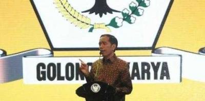 Jika Golkar Pinang Jokowi, PDIP Bisa Ngambek dan Marah