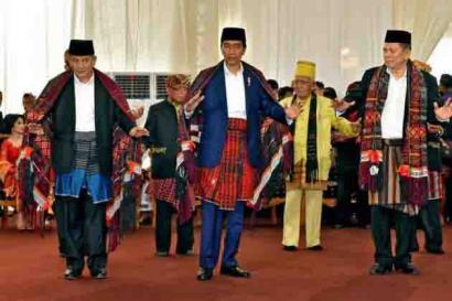 Ketika Pak Jokowi Jadi Bagian Keluarga Batak
