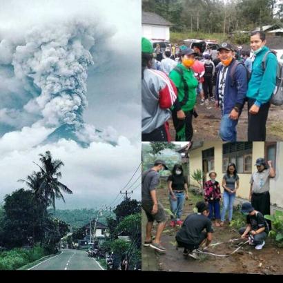 Langkah Desa di Tengah-tengah Bencana Erupsi Gunung Agung