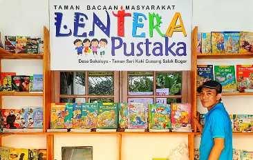 Sosok di Balik TBM Lentera Pustaka, Begini Cara Mendirikan Taman Bacaan