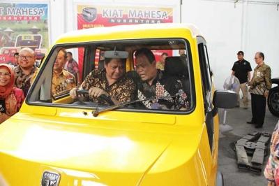 Kementerian Perindustrian Kembangkan Mobil Pedesaan