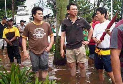 Ahok Marah, Banjir yang Takut