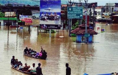 Banjir Bandung Sulit Dibendung