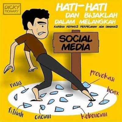 Menjadi Sosial dalam Bersosmed