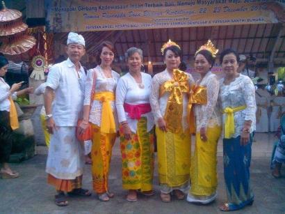 Linda Anugerah dan Metatah Masal di Bali