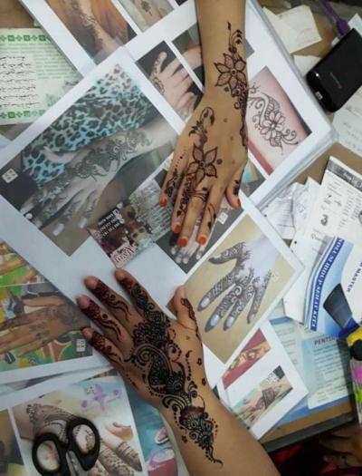 Alvin dan Henna Art, Kreativitas Kekinian Persembahan Generasi Z