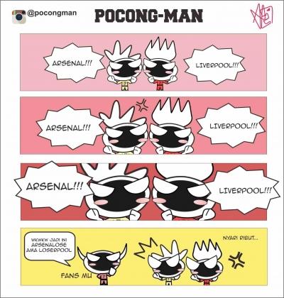 #Komikstrip, Pocong-Man