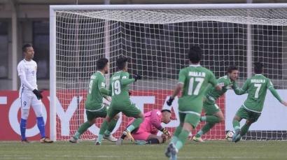 Malaysia Tak Berdaya di Piala Asia U-23