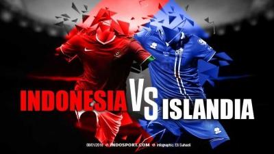 Laga Tanding Sepak Bola Indonesia Vs Islandia, Masih Ada Harapan?