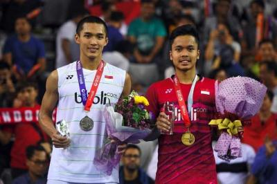 Jalan Terjal Tunggal Putra Indonesia di Malaysia Masters 2018