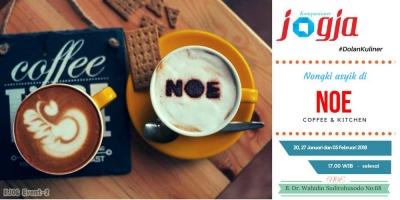 Yuk #DolanKuliner Nongki Asyik di Noe Coffee and Kitchen bareng K-Jogja