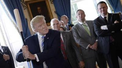 Popularitas Trump di Balik