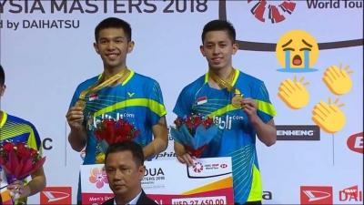 Gelar Juara Fajar/Rian di Tengah Anomali Malaysia Masters 2018