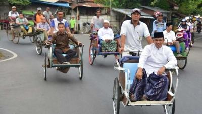 Wacana Anies Hidupkan Kembali Becak dan Janji Politik Jokowi