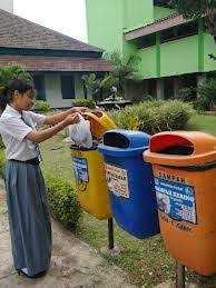 Membiasakan dan Mendidik Anak Membuang Sampah Pada Tempatnya