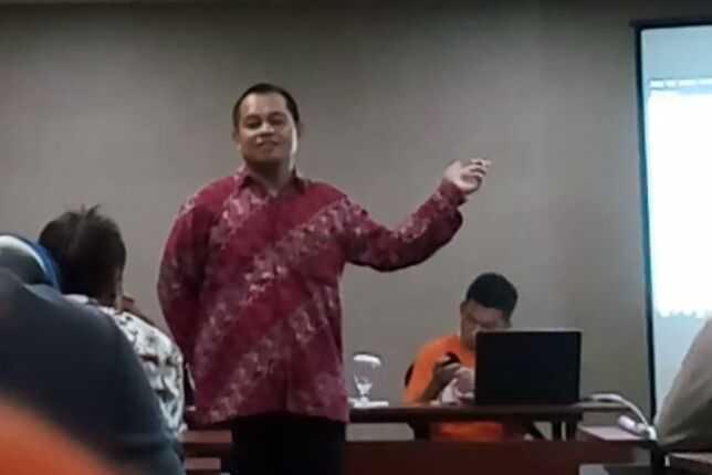 Seminar yang Luar Biasa dari Dosen Jualan