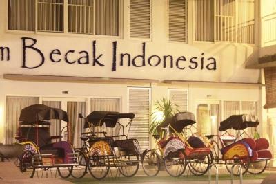 Kehadiran Becak Bikin Jakarta Lebih Instagramable