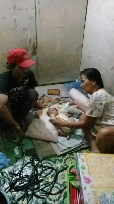 Terlantar di Jakarta, Seorang Ibu Nyaris Melahirkan di Jalan