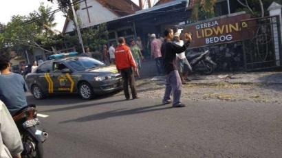 Penyerangan Gereja Lidwina, Sleman Yogyakarta